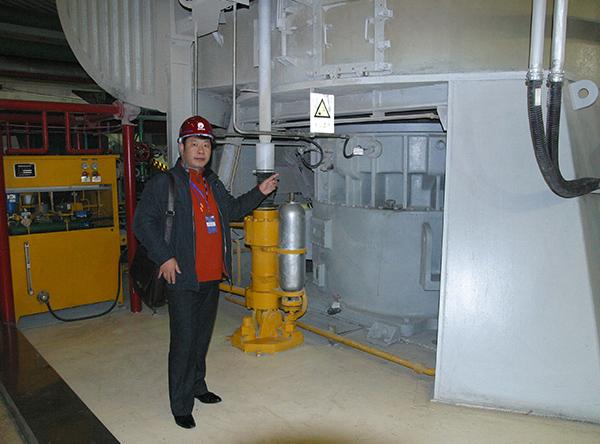 电厂专用磨煤机使用现场
