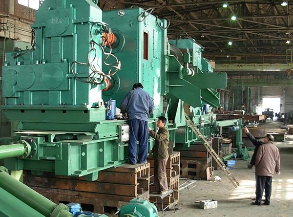 剪切装置在首钢生产线