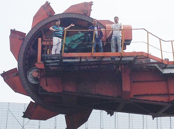 斗轮堆取料机减速机成套设备